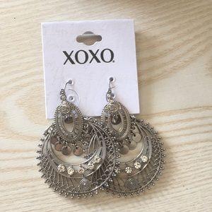XOXO Boho Gypsy Earrings Silver